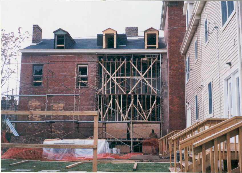1111 Sheffield Rear Under Construction