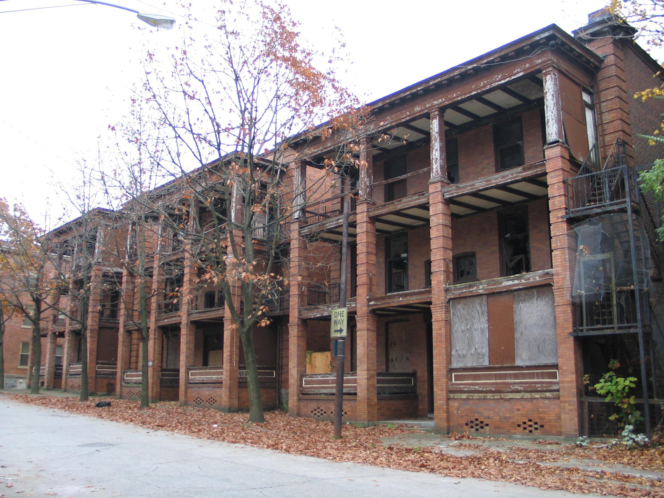 Falconhurst Apartments Exterior Before