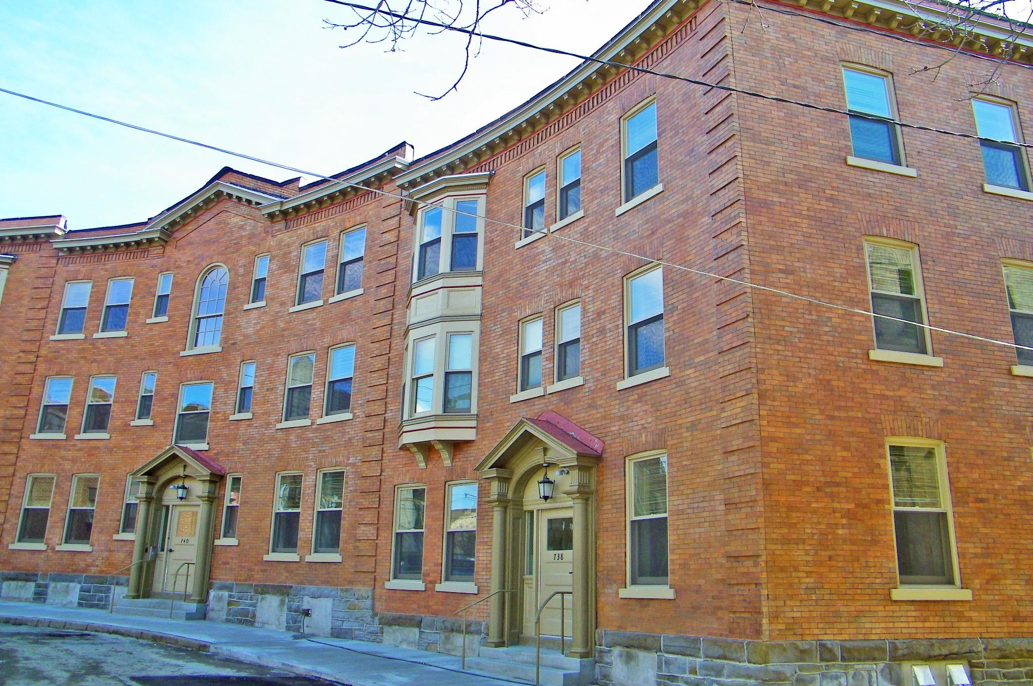 Crescent Building Exterior After