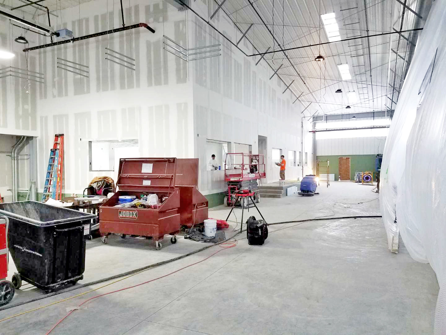 Office Space Framing