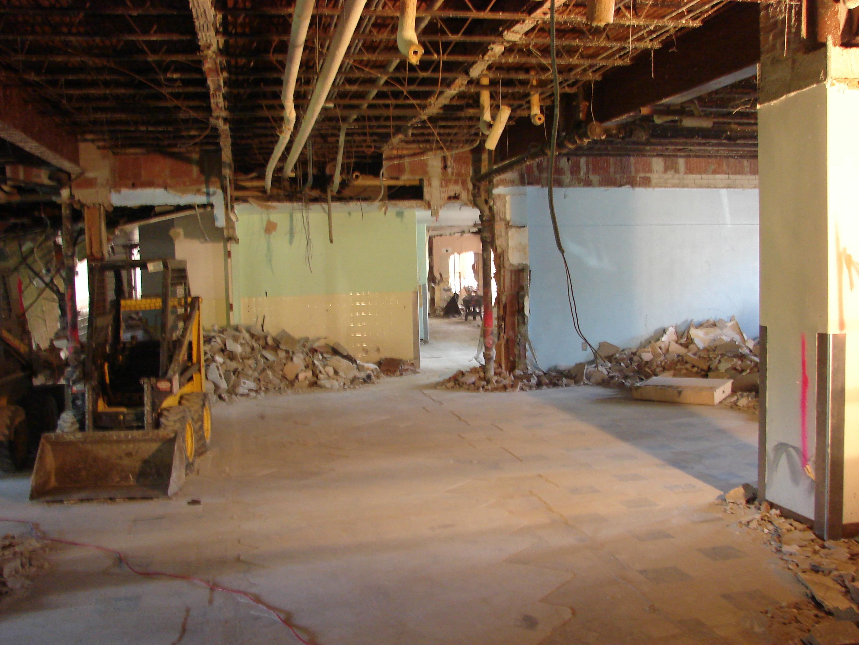 Demolition of Existing Interior