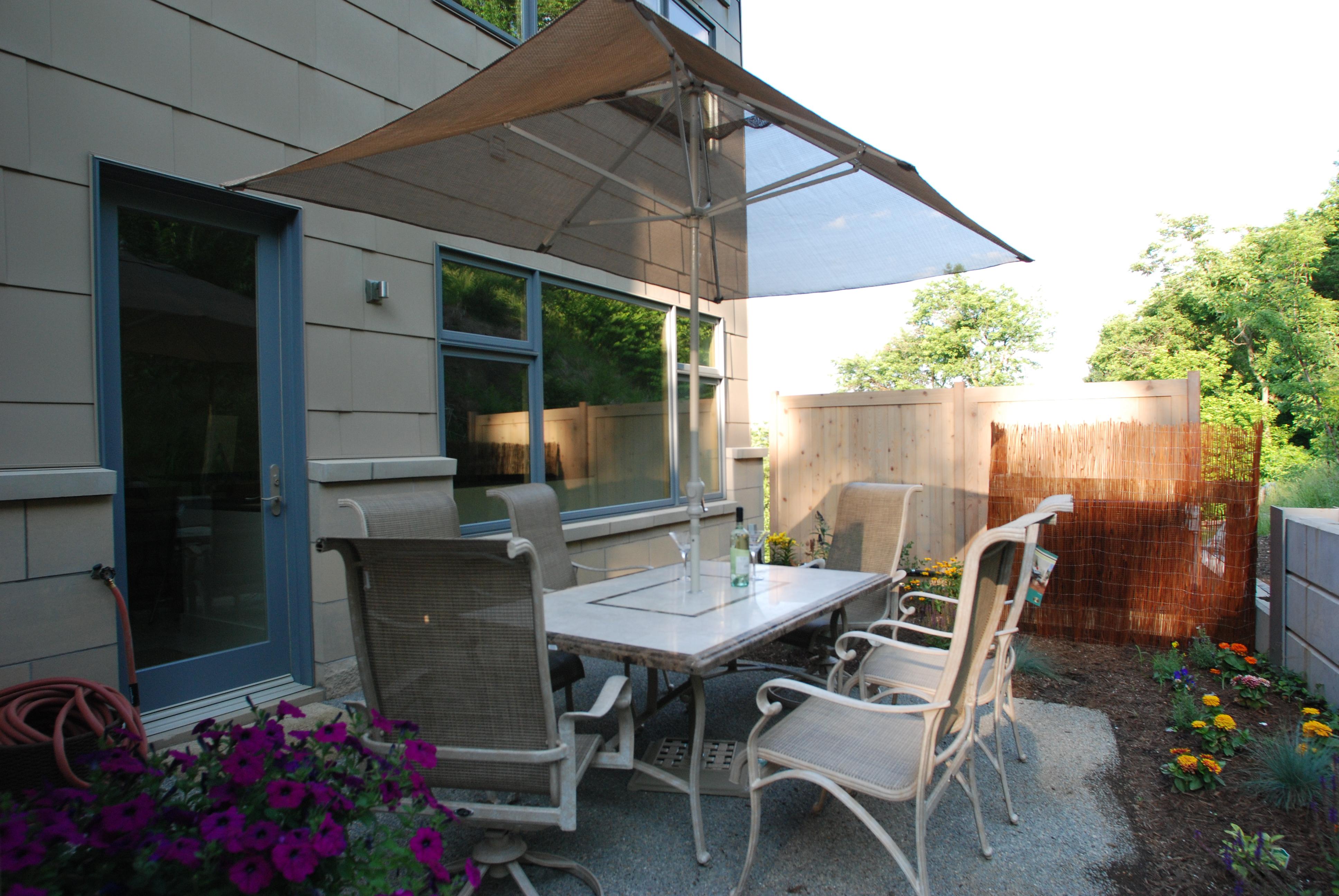 Backyard Courtyard