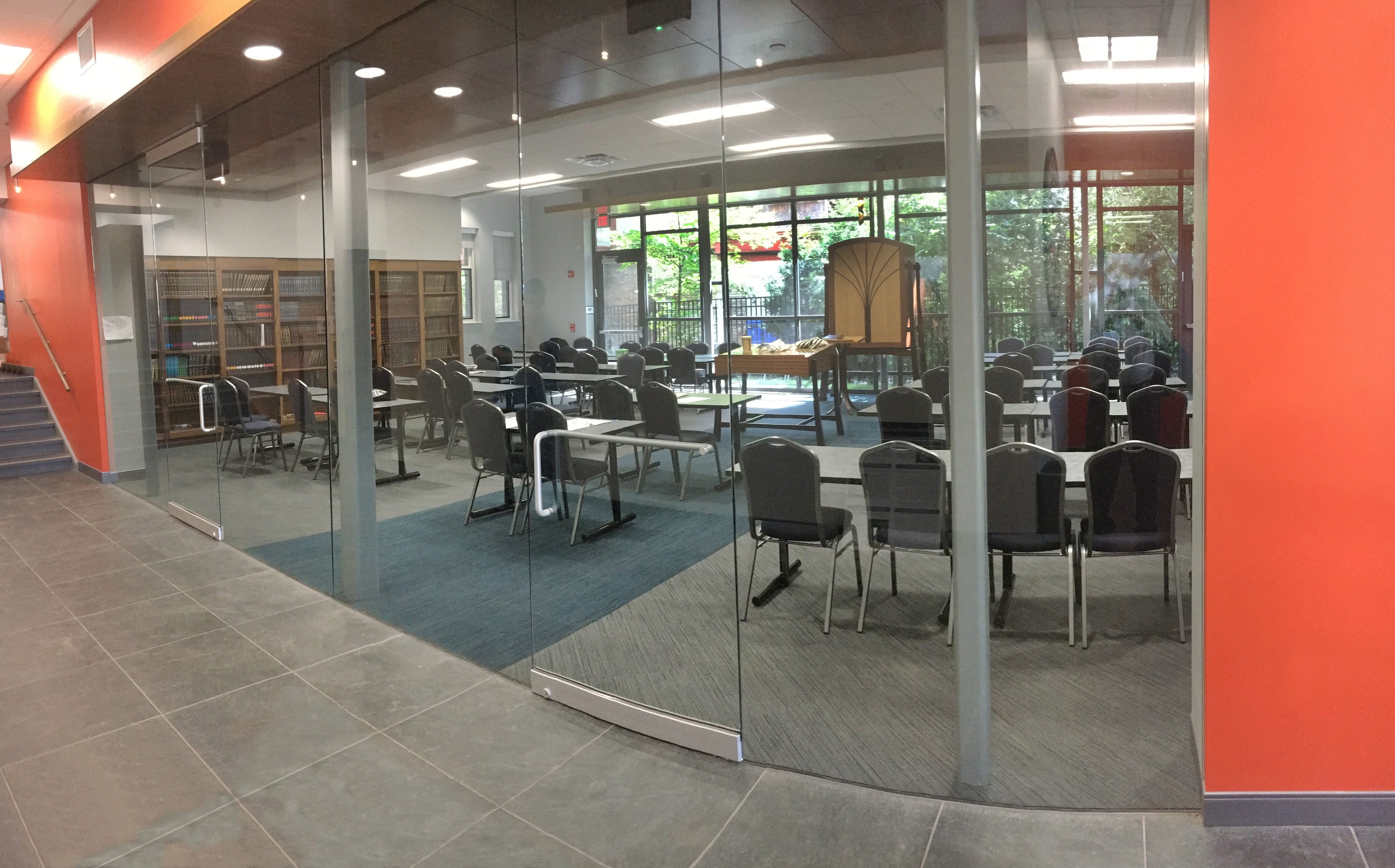 Shul Lecture Space