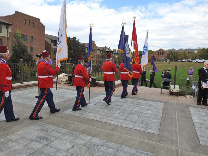 Veterans Garden Dedication
