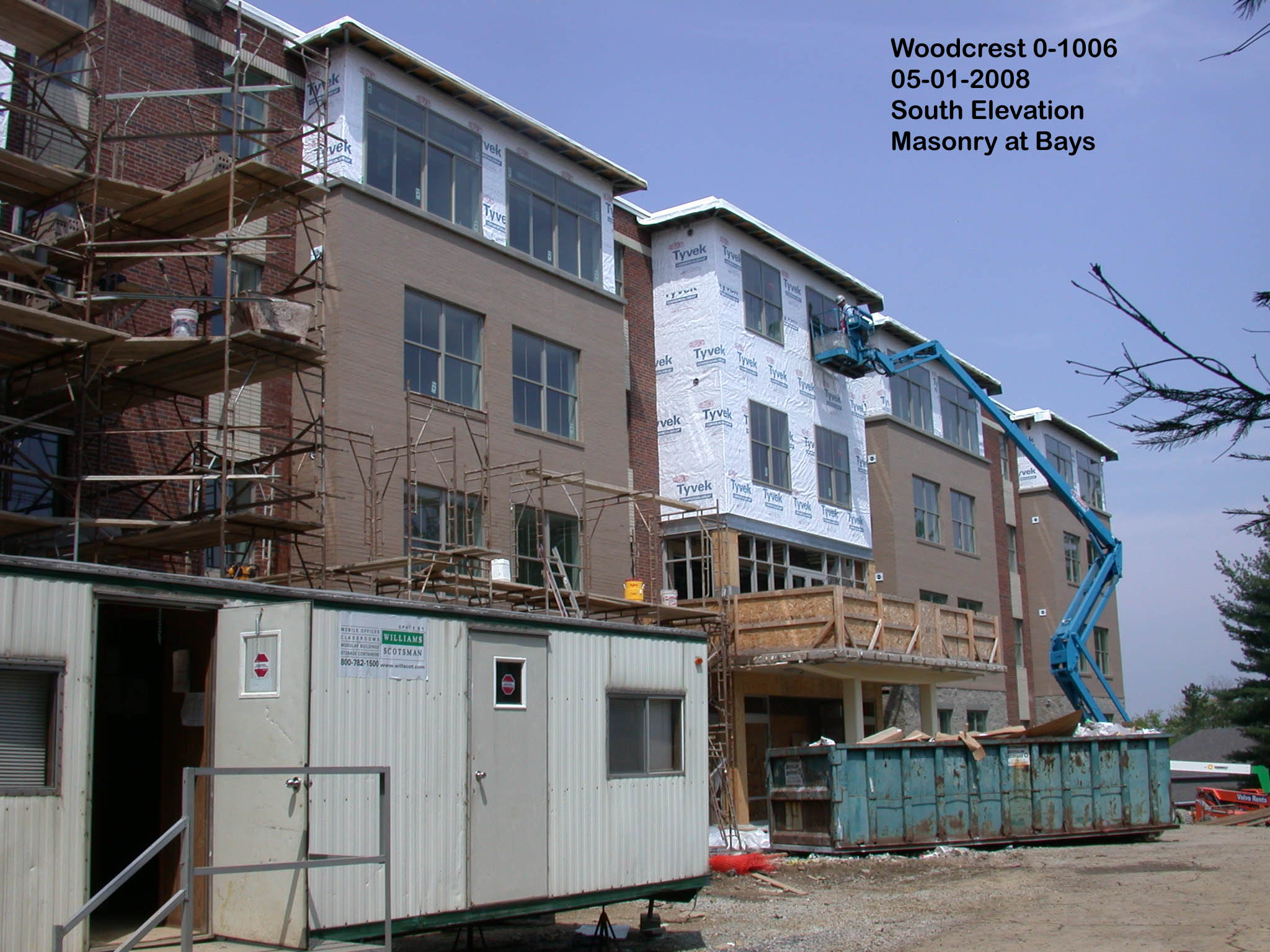 Bays Under Construction