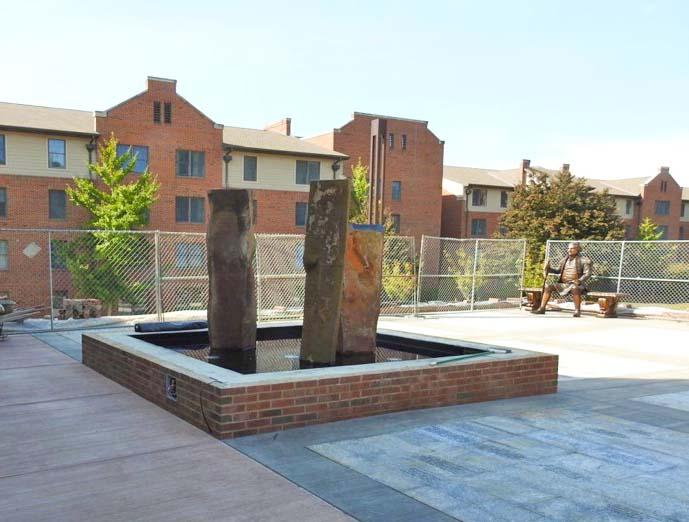 Fountain & Statue